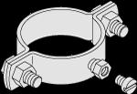 Montagebeschlag D=3,0' S164